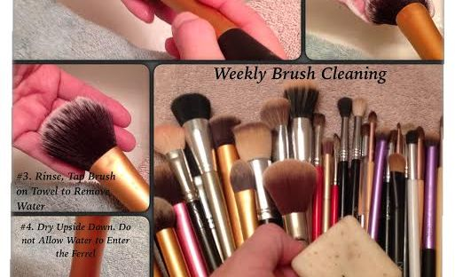 Cleaning My Makeup Brushes Beauty Native Style